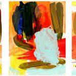 3 stabat studies 2007 acrylic on canvas 35x27