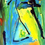 crohot I toussaint 1999 acrylic on paper 56x76