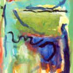 crohot II toussaint 1999 acrylic on paper 56x76