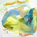 demain dès l'aube 2013 acrylic on canvas 100x100