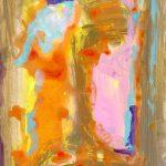 etudes II 1999 acrylic on paper 33x41