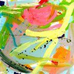 eve 2008 acrylic on canvas 100x100
