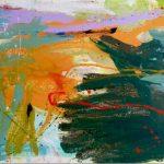 kochi nights 2012 acrylic on canvas 210x97