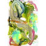 le bout de la rue 2012 acrylic on canvas
