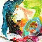 midsummer madness 2013 acrylic on canvas 100x100