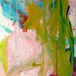 pink 2012 acrylic on canvas 100x130