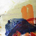 prairies IV 2011 acrylic on wood 27x22