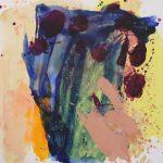 rainsins 2007 acrylic on canvas 100x100