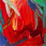 rouge 2005 acrylic on canvas 80x80