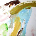 saul 2013 acrylic on canvas 40x40