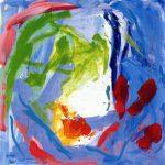 south - positano spring 2000 acrylic on canvas 100x100