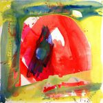 stabat mater I 2007 acrylic on canvas 180x180