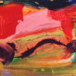 stabat mater III 2007 acrylic on canvas 33x41