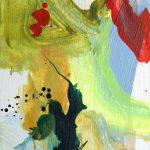 summer study II 2012 acrylic on wood 14x22