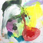 summer study III 2012 acrylic on canvas 12x12