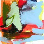tara 2007 acrylic on canvas 100x100
