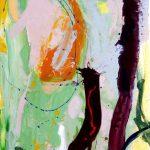the island 2012 acrylic on canvas 120x210
