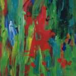 wang fung terrace 1998 acrylic on canvas 140x140